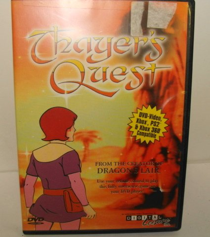 Ps2 Games Dvd - Thayer's Quest DVD-Video, Xbox, PS2 & Xbox 360 Compatible Game
