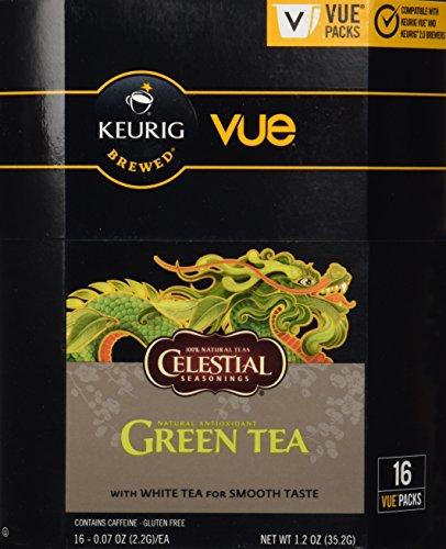 Vue Pack Celestial Seasonings Green Tea for Keurig - Vue Green Tea