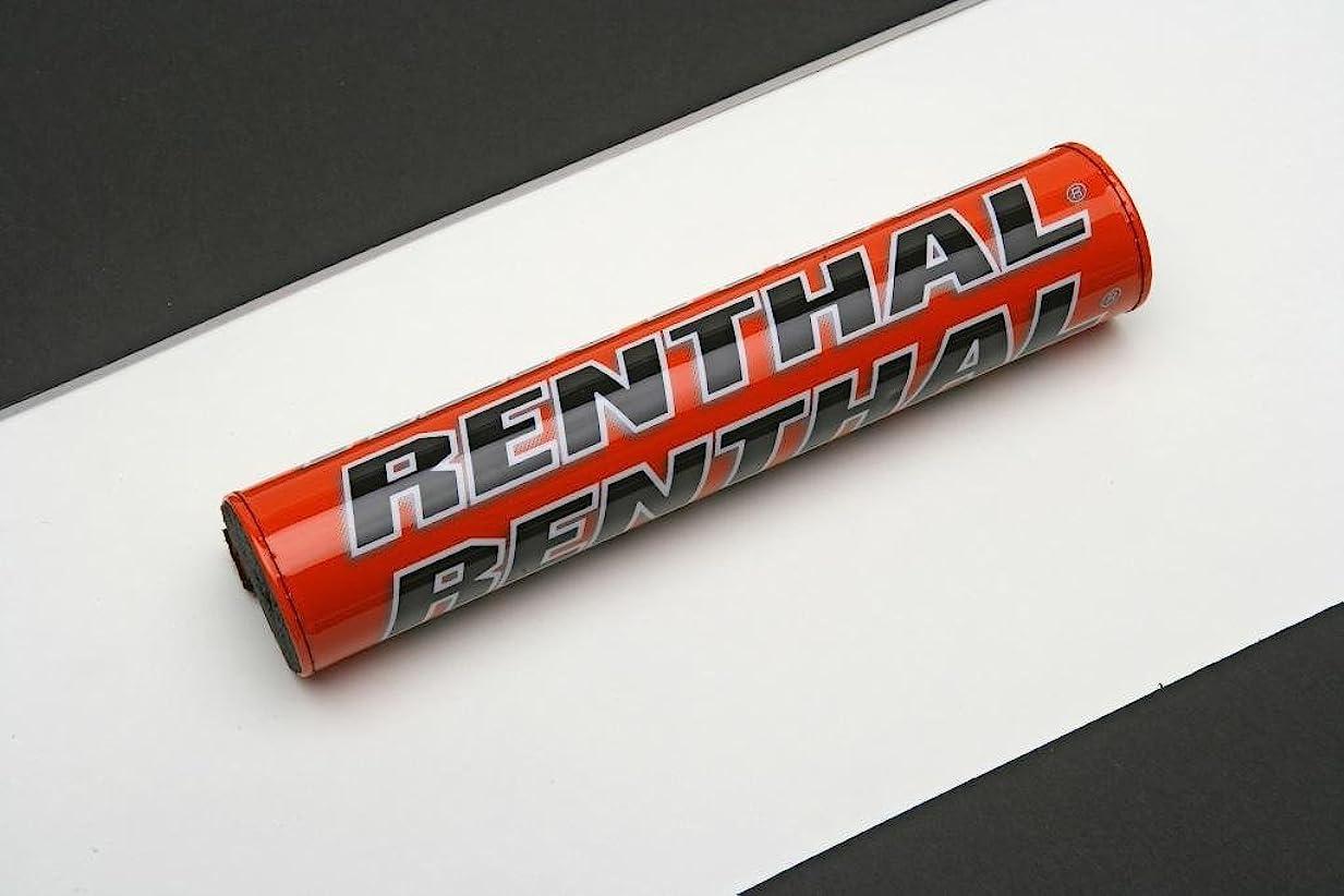 非常に削除するスロットレンサル RENTHAL クロスバーパッド チーム イシューSX 長さ240mm 黒/白/黄 0601-2152 P287