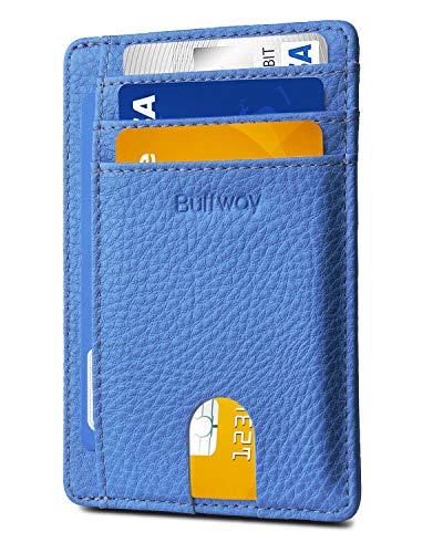 her Wallets for Men & Women - Lichee Blue ()