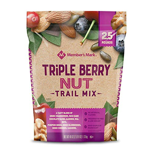 Member's Mark Triple Berry Nut Trail Mix 40 oz. (pack of 4) A1 by Store - 383 (Image #3)