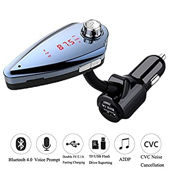 Review Bluetooth 4.0 FM Transmitter,