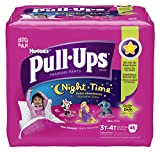 Health & Personal Care : Huggies Pull-Ups Night-time Training Pants, Size 3T - 4T, Girl, 46 Count (Pack of 2)