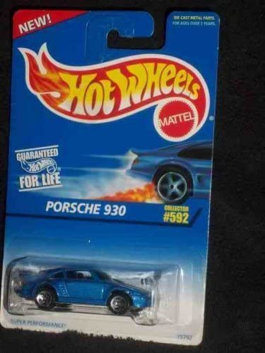 1996 Hot Wheels Porsche 930 #592
