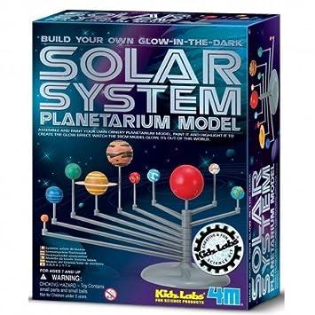 Juego Educativo 4m Planetario Fluorescente De Escritorio Del Sistema