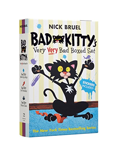Two Kitties - Bad Kitty's Very Very Bad Boxed Set (#2): Bad Kitty Meets the Baby, Bad Kitty for President, and Bad Kitty School Days