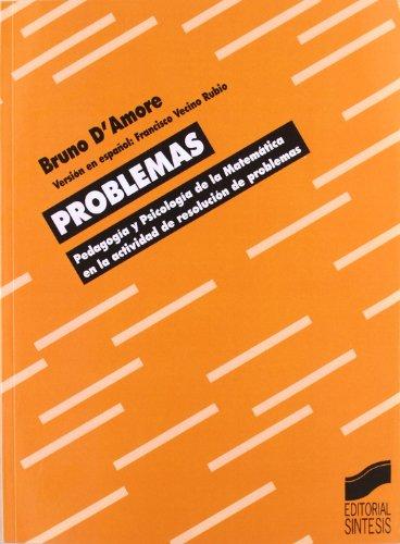 Problemas Pedagogia y Psicologia de La Matema (Spanish Edition)