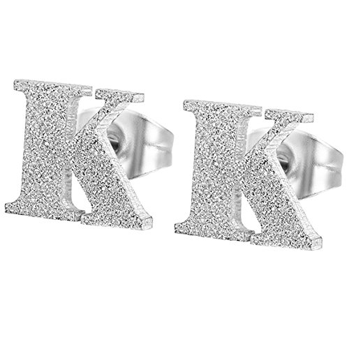 Alphabet Earrings Flongo Stainless Valentine