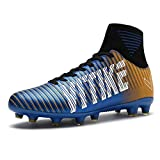 ASHION Football Boots Sneakers Professional Outdoor Soccer Shoes Teenagers Training Sho