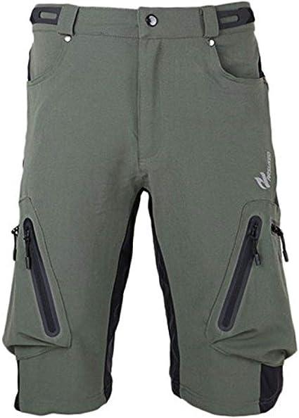 Arsuxeo Pantalones Cortos para Hombre, Pantalones Cortos Ciclismo para MTB, Pantalones Cortos Hombre Verano Secado Rápido