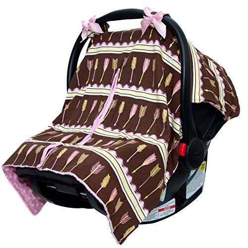 Cow Print Baby Car Seat Stroller - 7