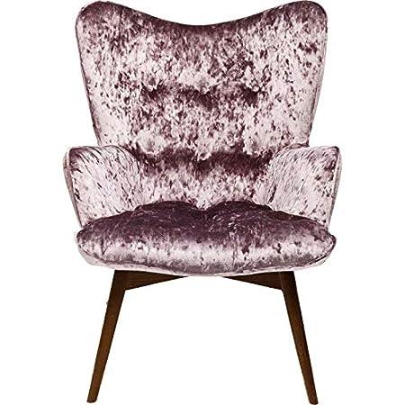 Amazon De Sessel Vicky Diva Velours Violett Kare Design