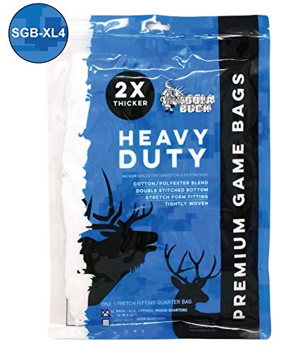 Koola Buck Standard SGB-XL1 Elk/Caribou/Moose/Quarter Bag - 4 Pack