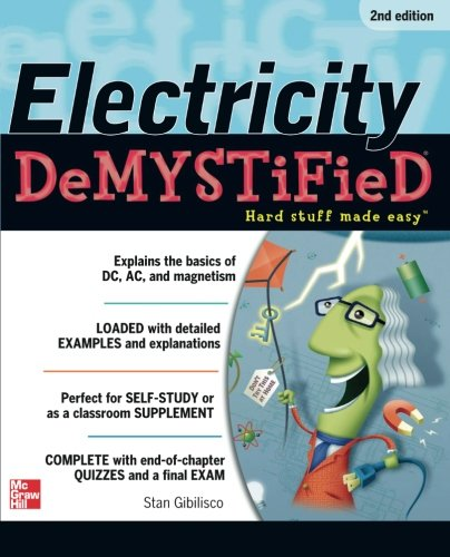 Electricity Demystified, Second Edition (Electricity For Dummies compare prices)