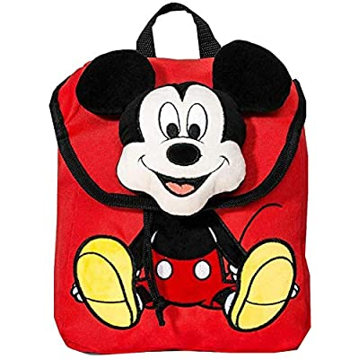 Boys' Disney Mickey Mouse & Friends Mickey Mouse Plush Backpack Bag - Red | Kids' Backpacks