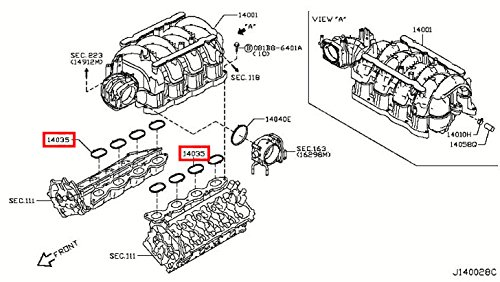 infiniti q45 engine on ebay