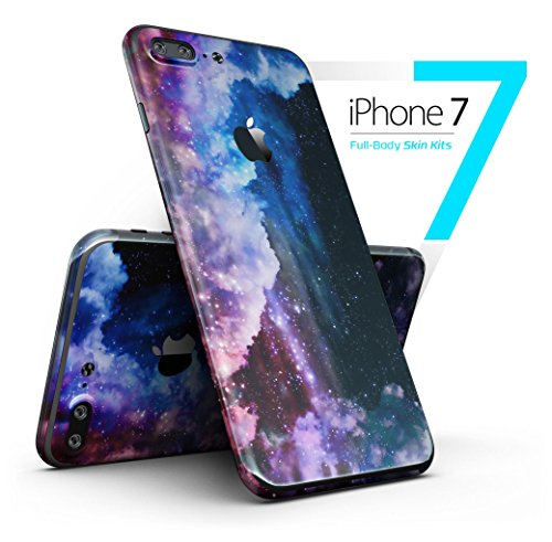 Purple Blue and Pink Cloud Galaxy - Full-Body iPhone 7 Plus DesignSkinz // Slim / Ultra-Thin / Matte Finished / Protective Skin Wrap