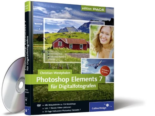 Photoshop Elements 7 für Digitalfotografen (Galileo Design) Gebundenes Buch – 28. Januar 2009 Christian Westphalen 3836213605 Anwendungs-Software Computers / General