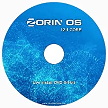 Zorin OS 12.2 CORE - NEW Release - Linux 64-bit on DVD