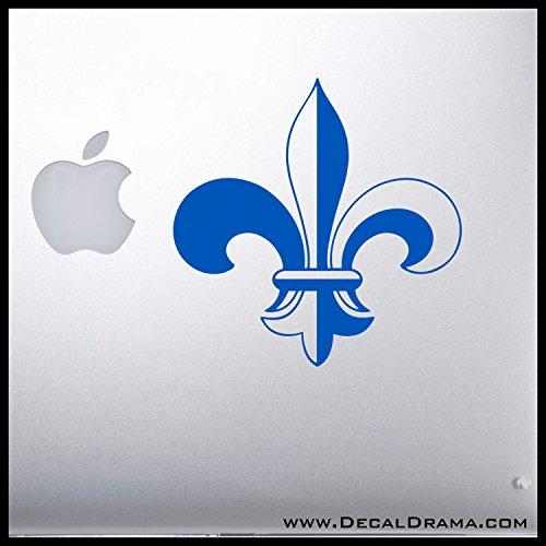 Fleur-de-lis Vinyl Car/Laptop Decal, Eagle, BSA, Boy Scout ()