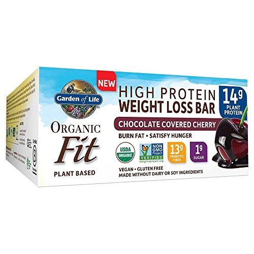 Garden of Life Organic Fit Bar Chocolate Covered Cherry (12 per carton)