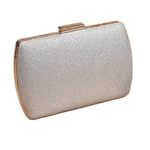 Color Party Wedding Women's Silver Prom Shinning Lovely gold For Bag Evening Rose Purse rabbit Clutch vPqqFwA