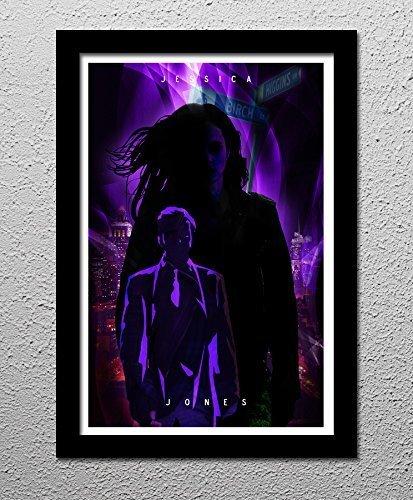 Jessica Jones - Krysten Ritter - Marvel - Original Minimalist Art Poster Print]()