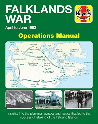 Falklands War Operations Manual: April to June 1982 - Insights into the planning, logistics and tactics that led to the successful retaking of the Falkand Islands (Haynes Manuals) (Buck Operation Black)