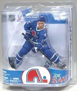 McFarlane Toys NHL Sports Picks Series 17 Action Figure:Joe Sakic(Quebec Nordiques) Blue Jersey