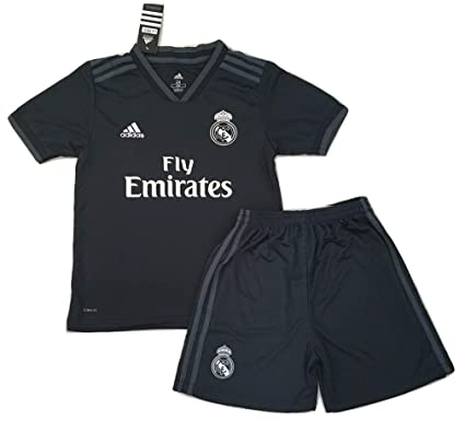 4602e3c7eba Amazon.com  NEW 2018 2019 Real Madrid Away Jersey   Shorts for Kids ...
