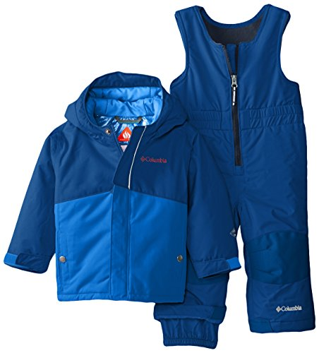 (Columbia Baby Buga Snow Set, Super Blue, 6-12)