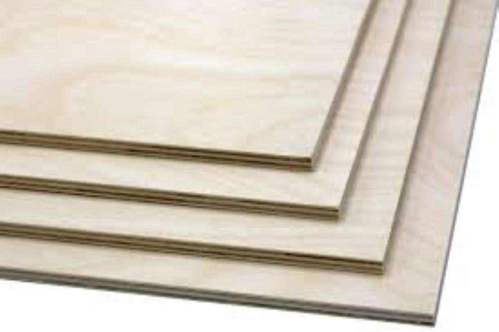1/8'' x 12'' x 12'' Baltic Birch Plywood Great For Laser, CNC, and Scroll Saw. 40pc by KenCraft Co Inc Hardwoods