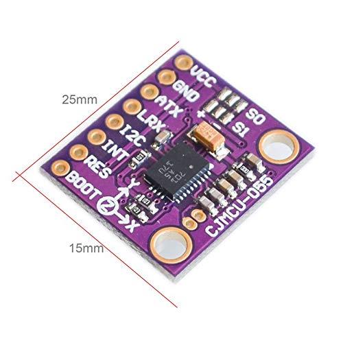 MCU Pourpre 9DOF BNO055 Module de capteur dattitude dangle 9Axis intelligent gyroscope acc/él/érom/ètre