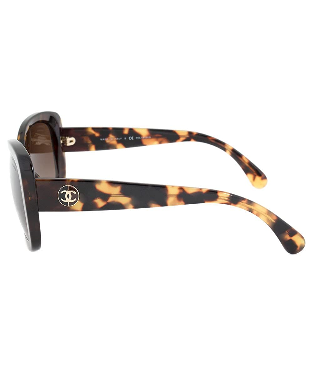636d8c7657 5322-1172-S9-57-Pol Rectangle Signature Sunglasses