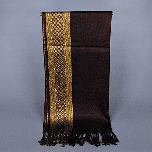HYIRI Women'ss Muslim Long Cotton Shawl Scarf Tassel Scarves Stole Wrap CO Holiday Essential -