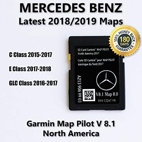 Mercedes-Benz A2139069903 Garmin Map Pilot Navigation SD Card 2017 North America (Class Of 2018 Cards)