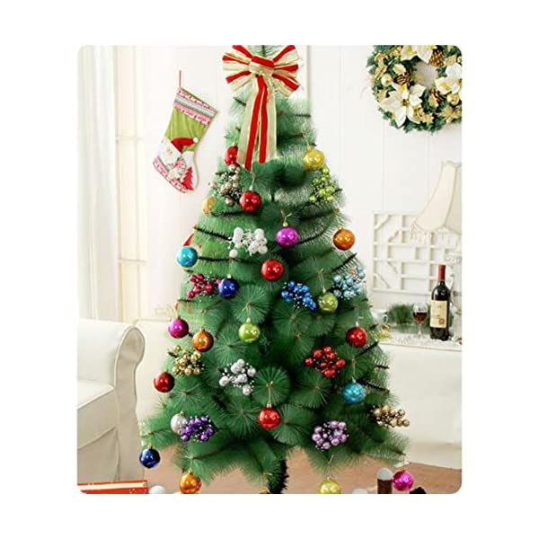ZJCilected-87-Inch-Glittery-Artificial-Berry-Picks-for-Christmas-Tree-Wreath-Garland-Decorations