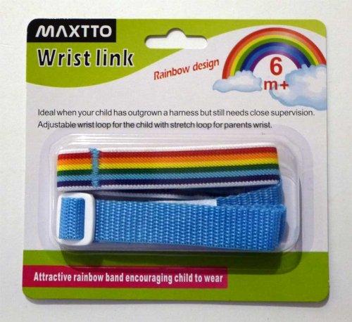 Maxtto Wrist Link (Rainbow Blue) HWBL01