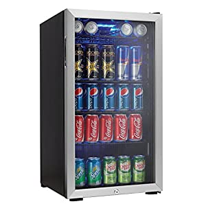 Danby 120 Can Beverage Center, Stainless Steel DBC120BLS 51sdzCgFtML