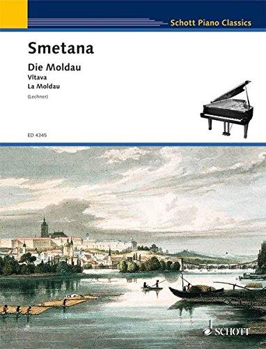 DIE MOLDAU PIANO SOLO (Schott Die)