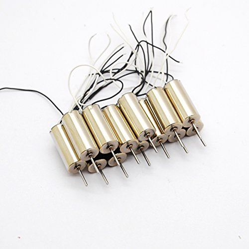 5pcs 7*16mm 716 DC Coreless Motor 4.2V 60000rpm High speed Helicopter Model Aircraft Toy Accessories