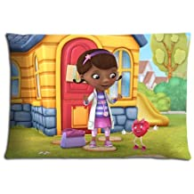 """16x24 16""""x24"""" 40x60cm throw pillow protectors cases Polyester and Cotton Lustrous Guaranteed Doc McStuffins"""
