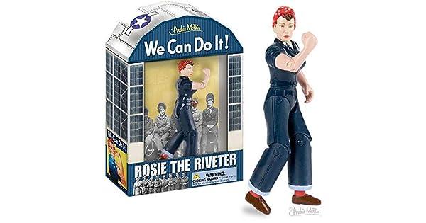 Amazon.com: Accoutrements Rosie la remachadora Figura de ...