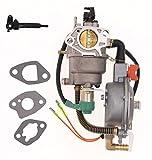 lpg carburetor - New Manual Choke Dual Fuel Carburetor LPG NG Conversion kit 4.5-5.5KW GX390 188F