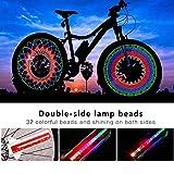 TGJOR Bike Wheel Lights, LED Waterproof Bicycle