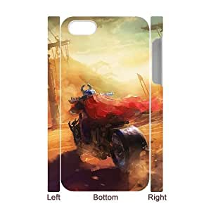 3D IPhone 4/4s Cases Motorcycles Painting, - [White] Tyquin