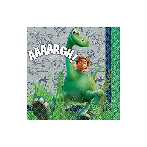 [Amscan Disney The Good Dinosaur Birthday Party Beverage Napkins Tableware (16 Pack), 5
