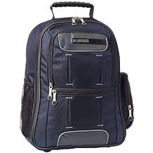 CalPak Orbit 18-inch Deluxe Laptop Backpack, Navy Blue, One Size