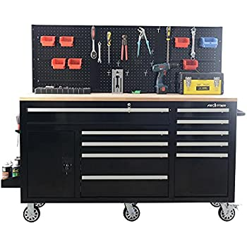 Amazon Com Frontier 62 In 10 Drawer Tool Chest Cabinet