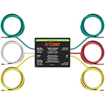 amazon com curt 56196 2 to 3 wire taillight converter automotive rh amazon com